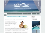 Website MOHI Travel solamento Reiseagentur