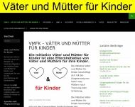 Website Väter und Mütter für Kinder