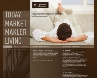 Bild Webseite uptown Immobilien Frankfurt
