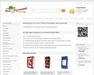 Website Tea Versand Stanislawski