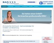 Website Kfz Gutachterbüro Bas