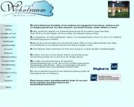 Website Immobilienbüro Wohntraum Immobilien  Magdeburg