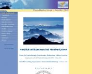 Bild Manfred Jonek - Diplom-Sozialpädagoge (BA) - Heilpraktiker für Psychotherapie (HPG)