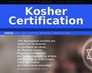 Bild Webseite KC International Kosher Certification München