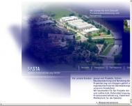 Bild Webseite SYSTA System-Automatisierung Bad Köstritz