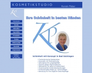 Bild Webseite KOSMETIKSTUDIO Kerstin Pelzer Bad Säckingen