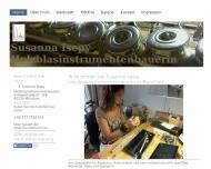 Bild Webseite Susanna Isepy Holzblasinstrumentenbauerin München