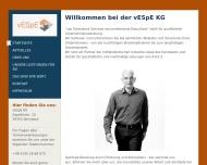 Bild Webseite  Ahnsbeck