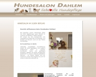 Website Hundesalon Dahlem