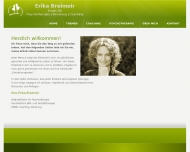 Website Erika Breimeir