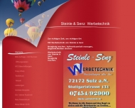 Website Werbetechnik-Sulz