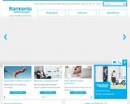 Bild Webseite Barmenia Versicherungen - Dieter Jankowski Freiburg im Breisgau