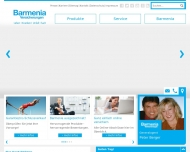 Website Barmenia Versicherungen - Peter Berger