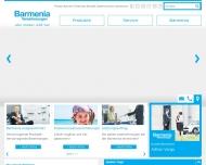 Website Barmenia Versicherungen - Adrian Varga