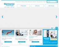 Bild Webseite Barmenia Versicherungen - Jeana-Cornelia Kugelmeier Köln