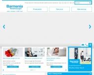 Bild Webseite Barmenia Versicherungen - Nanna Lamberts Aachen