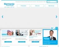 Bild Webseite Barmenia Versicherungen - Günther Smit Köln