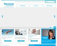 Website Barmenia Versicherungen - Sandra Leopa Ruenzi