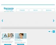 Bild Webseite Barmenia Versicherungen - Nicole Bergmann Aachen