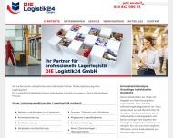 Bild Webseite DIE Logistik24 Hamburg