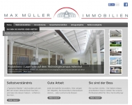 Website Max Müller Immobilien