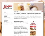 Website Bäckerei Schäfers
