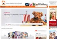 Bild Webseite Müller Berlin
