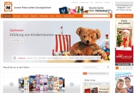 Bild Webseite Müller Nürnberg