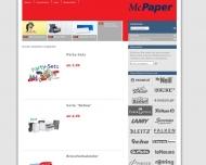 Bild Webseite McPaper Aachen