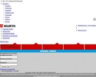 Bild Webseite Würth Heilbronn