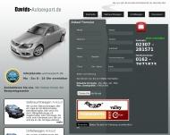 Website DavidsAutoexport