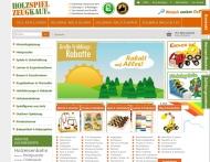 Bild Webseite Holzspielzeugkauf Köln