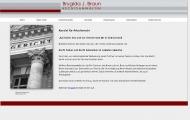 Bild Webseite Brygida Braun, Rechtsanwältin Berlin
