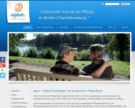 Website agere - Mobile Fachpflege