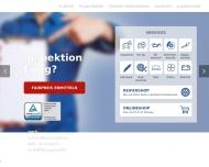 Bild Webseite  Coswig