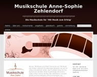 Bild Webseite Musikschule Anne-Sophie Berlin