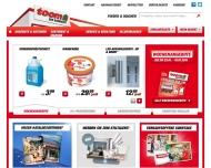 Bild Webseite toom BauMarkt Freital