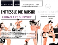 Bild Webseite Urban Art Support Berlin