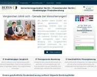 Bild Webseite BERVA Berlin
