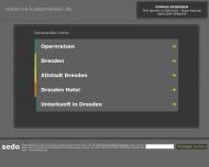 Bild Webseite Minerva Kulturreisen Dresden
