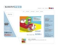 Bild Webseite SimpaTec Aachen