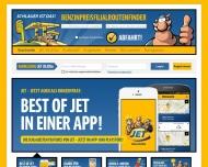 Bild Webseite JET Nürnberg