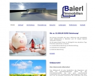 Website Baierl Immobilien