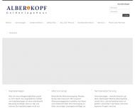 Website Martin Alber Finanzdienstleistungen