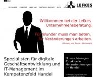 Bild Lefkes Unternehmensberatung GmbH