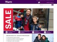 Bild Webseite Charles Vögele Heilbronn