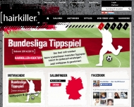 Website Hairkiller