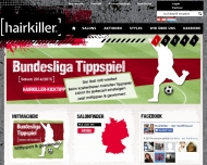 Bild Webseite Hairkiller Büdingen