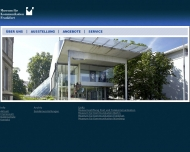 Website Museum für Kommunikation Frankfurt