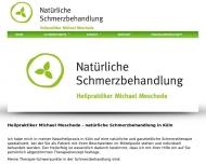 Bild Webseite Naturheilpraxis Meschede Köln